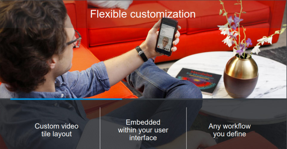 customize your app with vidyo.io